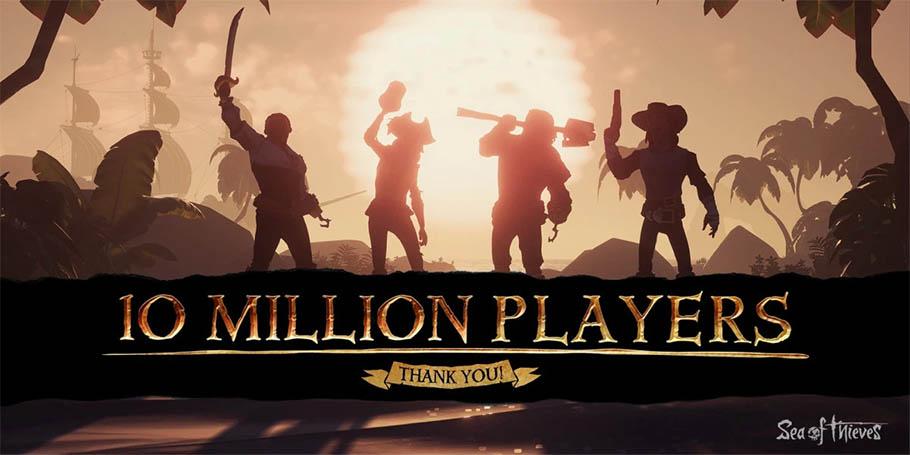 Con 10 millones de jugadores desde su lanzamiento, Sea of Thieves es el first party «más exitoso de esta generación»