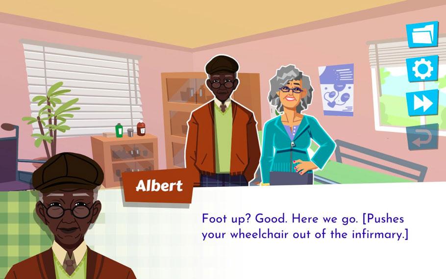 Later Daters es un prometedor, aunque inconcluso, dating sim protagonizado por personas mayores