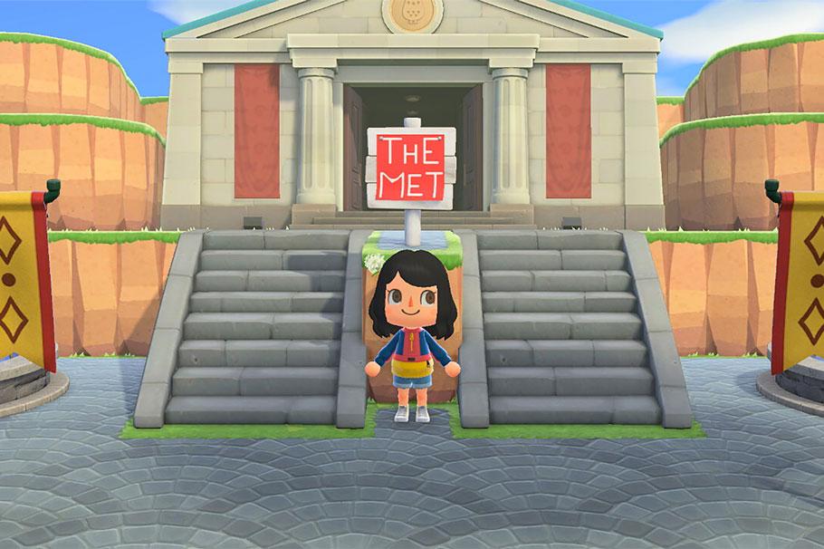 El MET de Nueva York celebra su aniversario ofreciendo parte de su catálogo en Animal Crossing