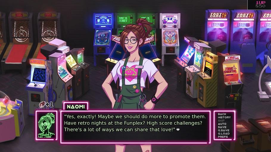 Análisis de Arcade Spirits