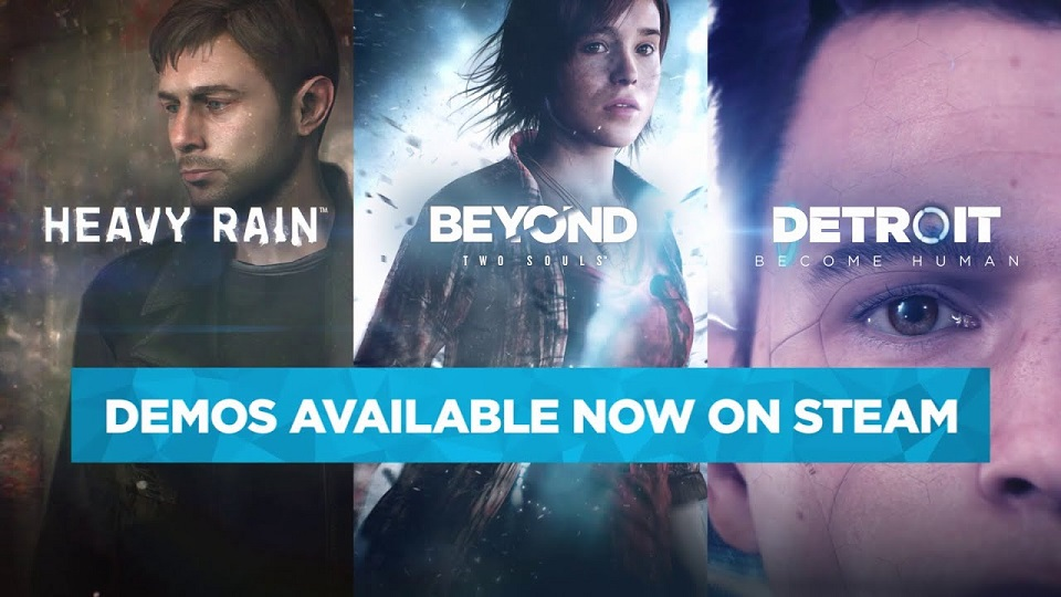 Heavy Rain, Beyond: Two Souls y Detroit: Become Human llegarán a Steam el 18 de junio