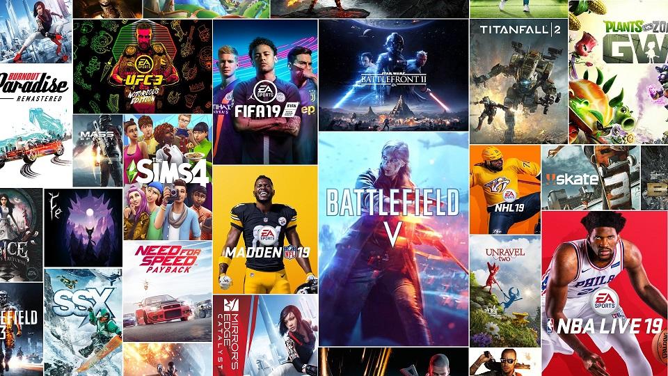 EA planea llevar muchos de sus títulos a Nintendo Switch este año